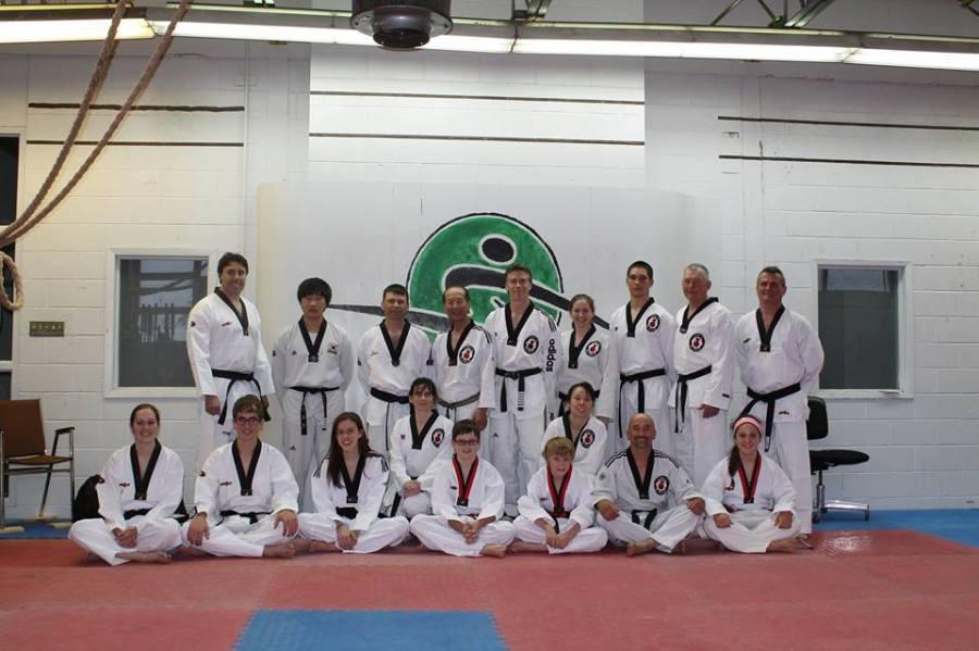 Black Belt Test 2013